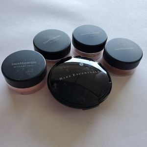 Set of 4 Bare Minerals foundation powders